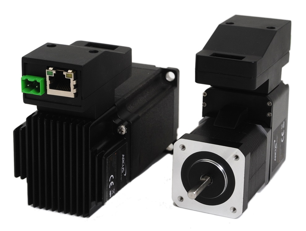 Integrated stepper motors arcus technology inc for Servo motors and drives inc