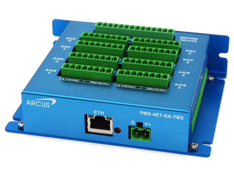 Screw terminal top board title=PMX-4ET-SA-TBS