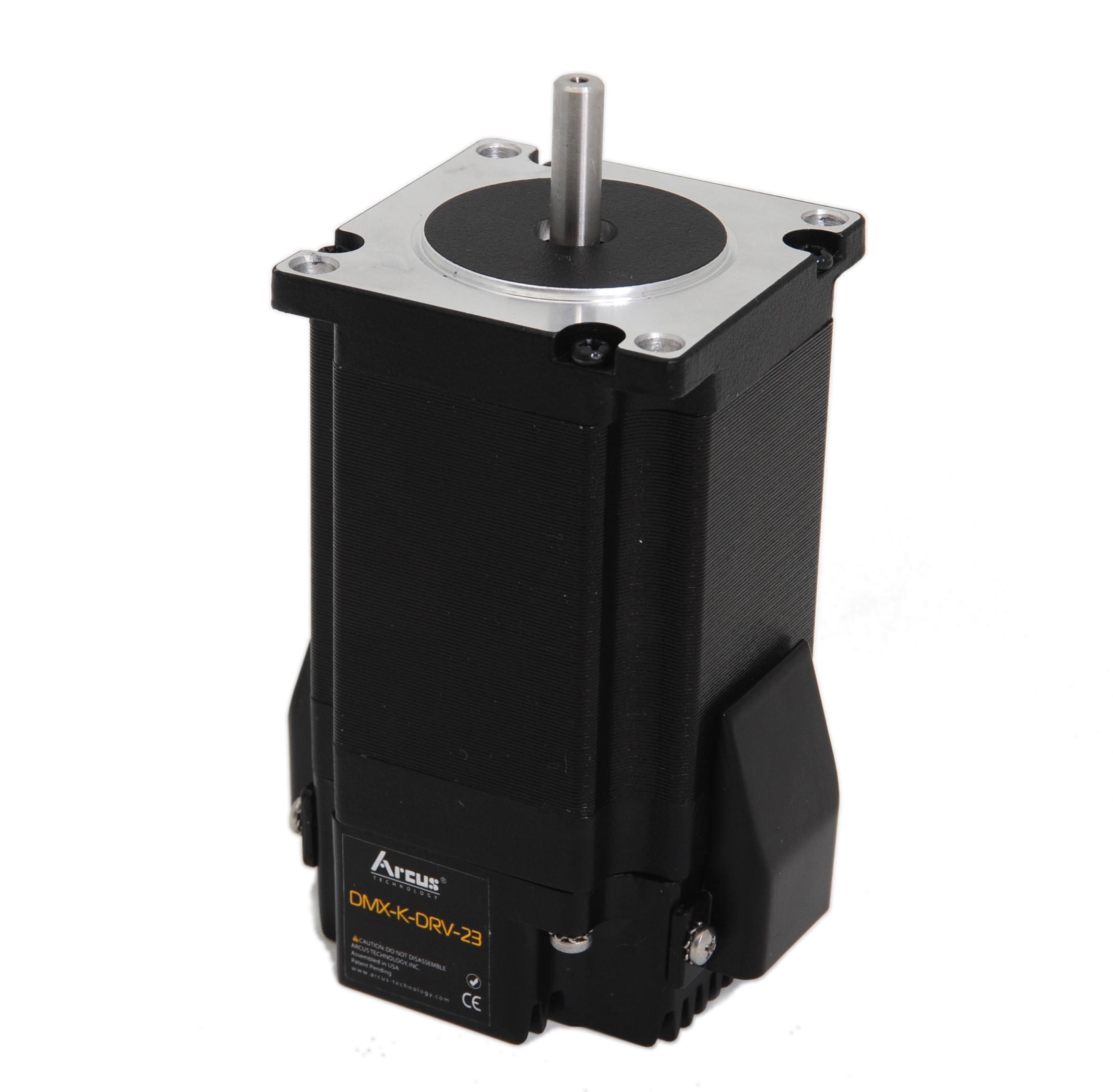 Nema 23 stepper driver arcus technology inc for Stepper motor integrated controller
