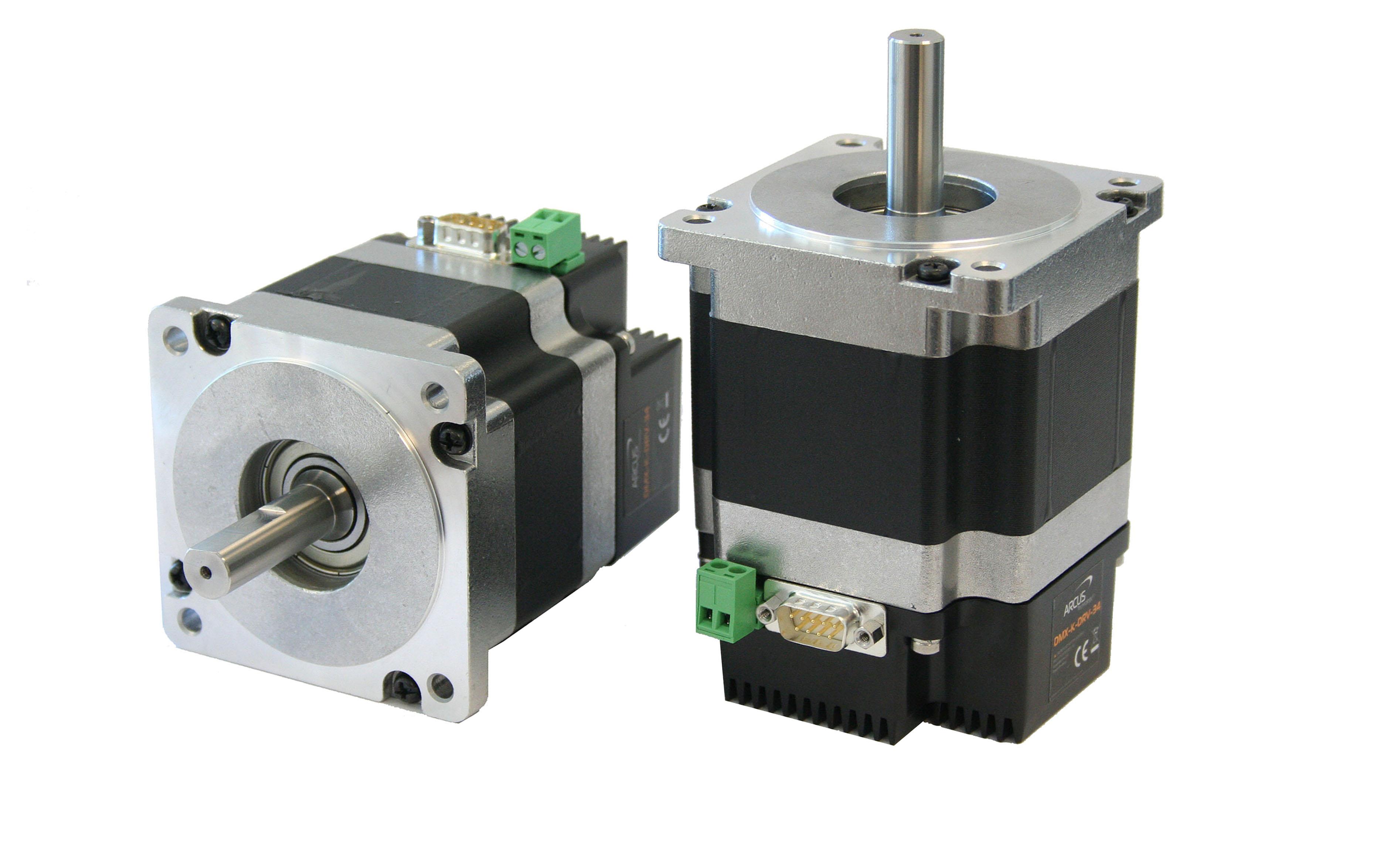Nema 34 stepper driver arcus technology inc for Stepper motor integrated controller