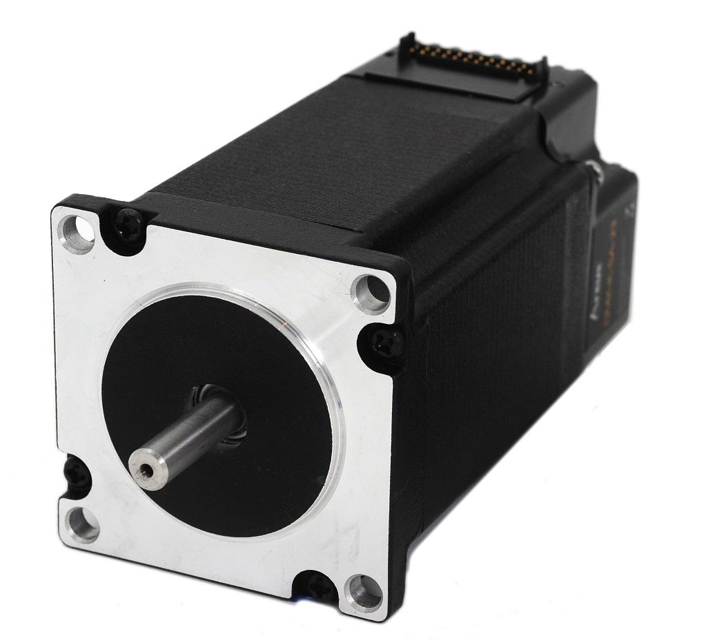 Nema 23 integrated serial stepper motor arcus technology for Stepper motor integrated controller
