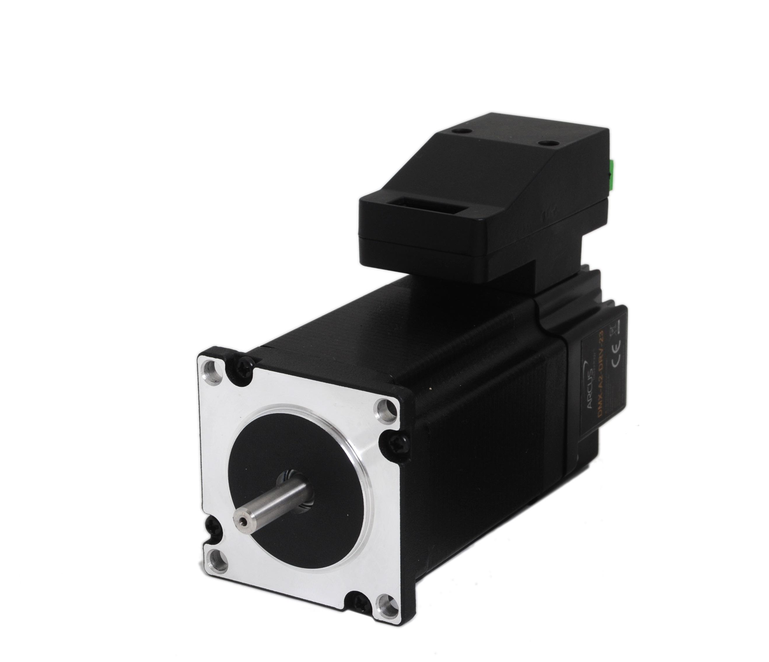Integrated usb stepper motors arcus technology inc for Stepper motor integrated controller