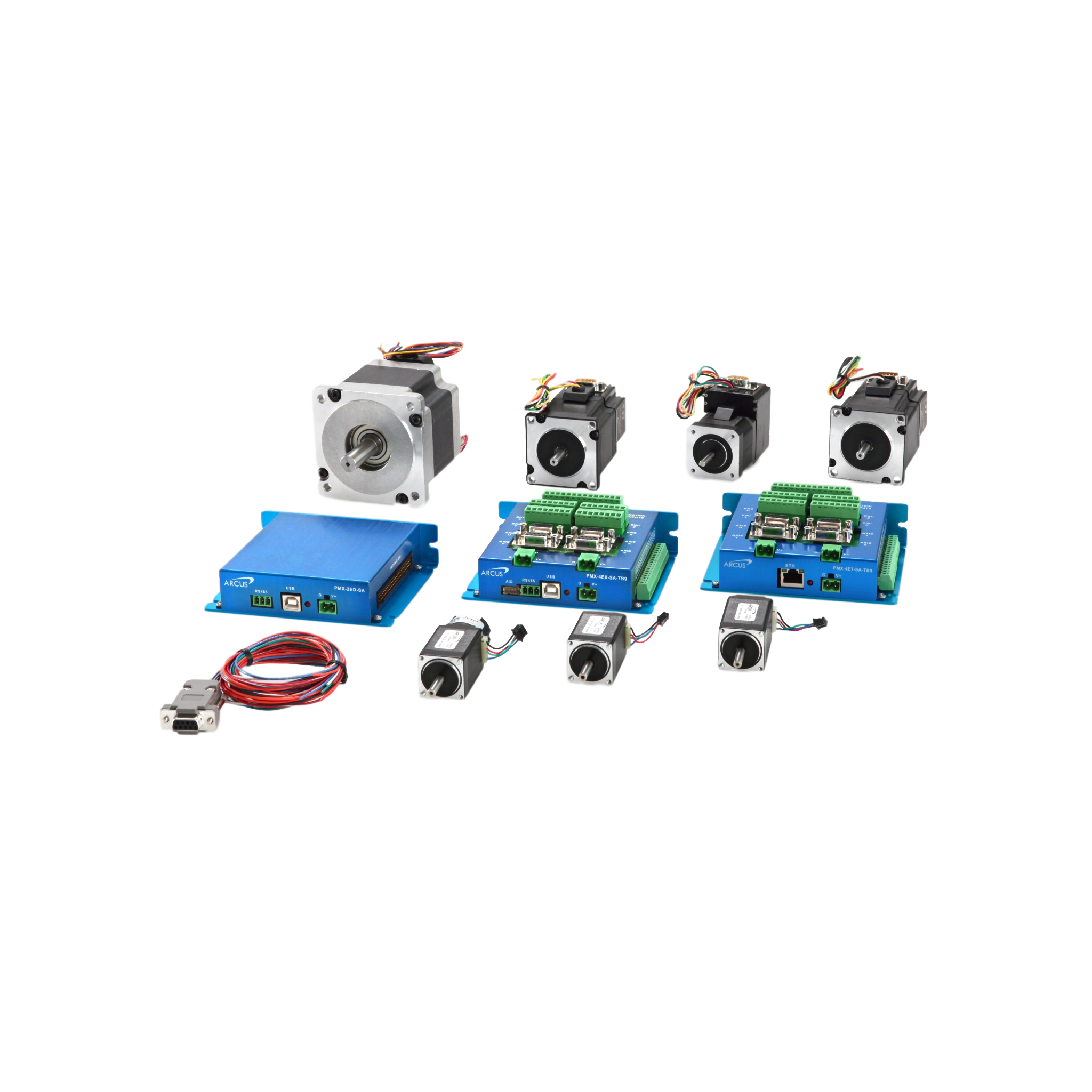 Arcus Stepper Motors / Stepper Motor Controllers